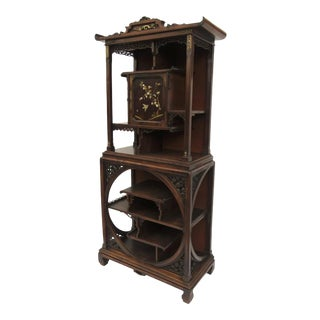 French Gabriel Viardot Display Cabinet Etagere For Sale