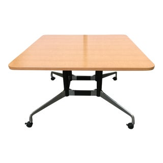 Mid-Century Modern for Herman Miller Eames Large Square Conference Table For Sale