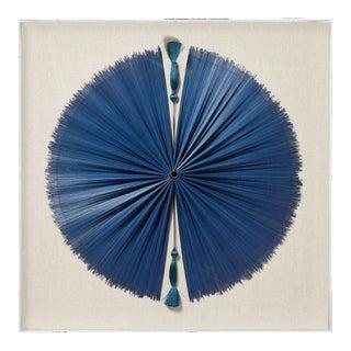 OKA Tuan Framed Textile - Blue