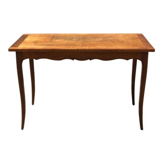 1950s French Country Wood Breakfast Table For Sale