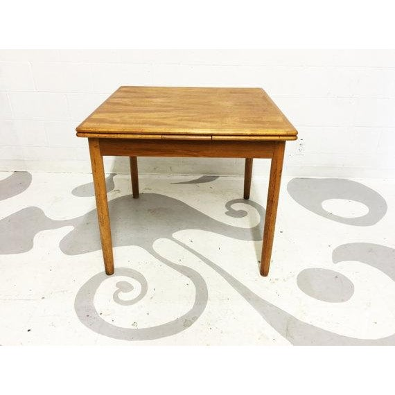 Mid-Century Modern Teak Dining Table - Image 5 of 6