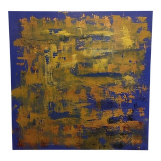 'Encryption' Original Acrylic on Canvas Painting