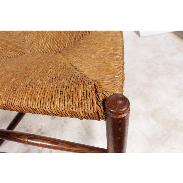 19th-C. English Rush Seat Dining Chairs - S/4 - Image 5 of 8