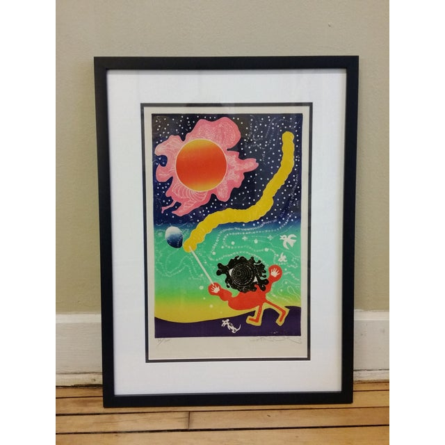 "Motoi Oi ""Playing Child Joy"" Print - Image 2 of 10"