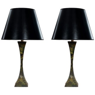 Stewart Ross Pair of Table Lamps For Sale