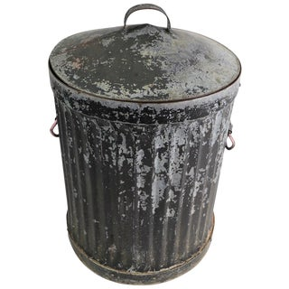 Industrial Trash Garbage Can With Lid For Sale