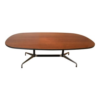 1980s Mid-Century Modern Herman Miller Eames Aluminum Group Conference Table For Sale