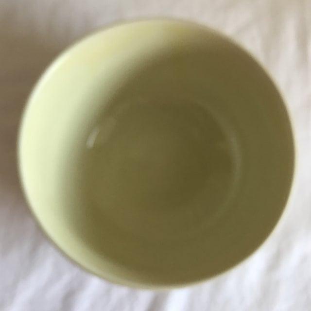 Vintage Hall Pottery Ceramic Bowl For Sale - Image 4 of 7