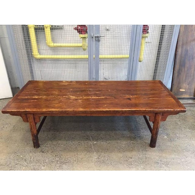 Asian Antique Chinese Huanghuali Hardwood Table For Sale - Image 3 of 9