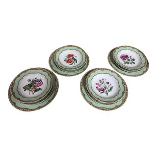 Andrea by Sadek Winterthur Collection Dinnerware - 40 Pieces For Sale