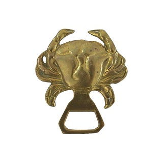 Midcentury Crab Bottle Opener For Sale