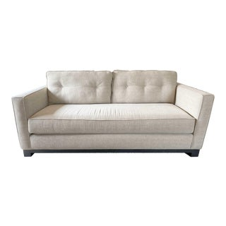 Vintage Mid-Century Tufted Sofa For Sale