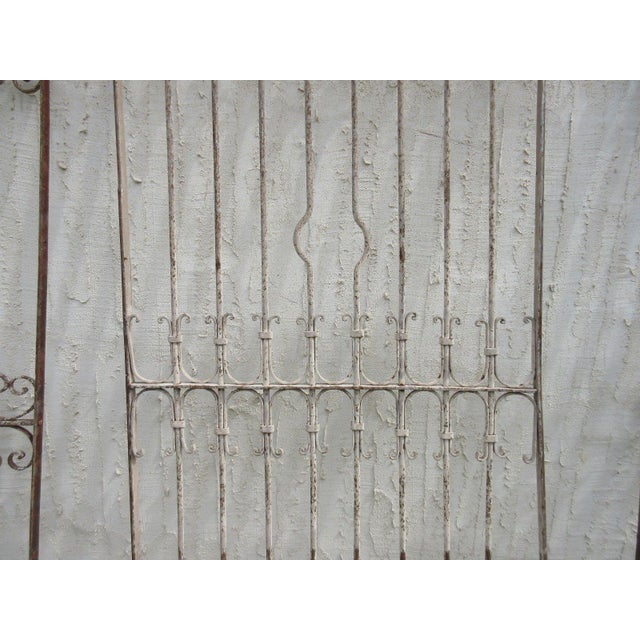 Antique Victorian Iron Gate Architectural Salvage For Sale - Image 4 of 6