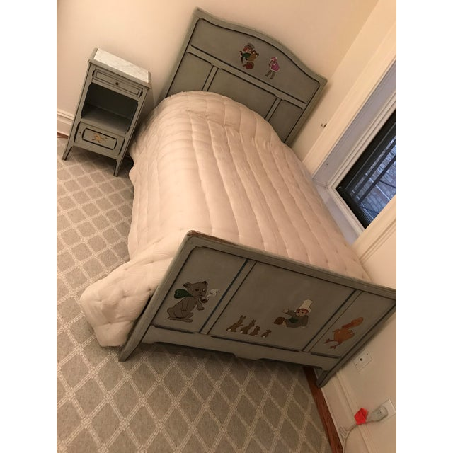 Children's Children's Antique French Bed For Sale - Image 3 of 6