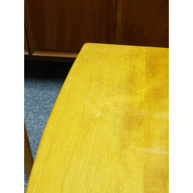 1960s Mid-Century Heywood Wakefield Nesting Tables - Set of 3 For Sale - Image 12 of 13