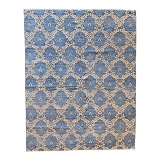 Modern Ocean Breeze Rug - 8' x 10' For Sale