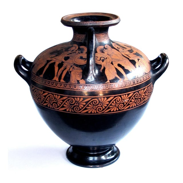 Signed on bottom 'Giovanni Mollica'; in 1842, Giovanni founded his ceramic workshop in Naples, Italy. His sons, Ciro,...