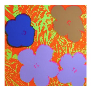 Andy Warhol, Flowers #69 (Sunday B. Morning), 1970-2020 For Sale