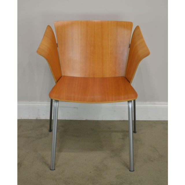 Mid-Century Modern Vico Magistretti for Fritz Hansen Danish Modern Armchair For Sale - Image 3 of 13