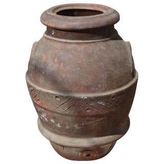 19th Century Olive Oil Jar For Sale