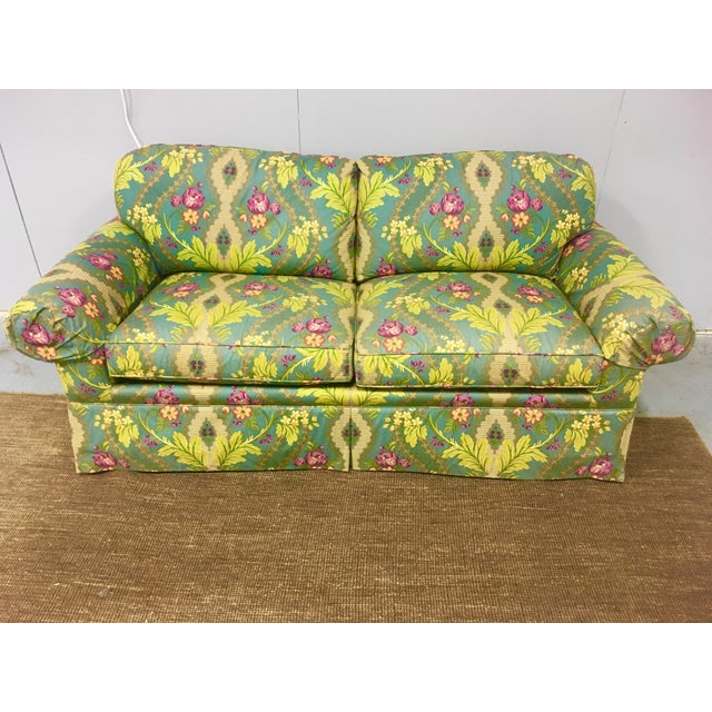 21st Century Clarence House Floral Print Down Sofa For Sale In Birmingham - Image 6 of 6