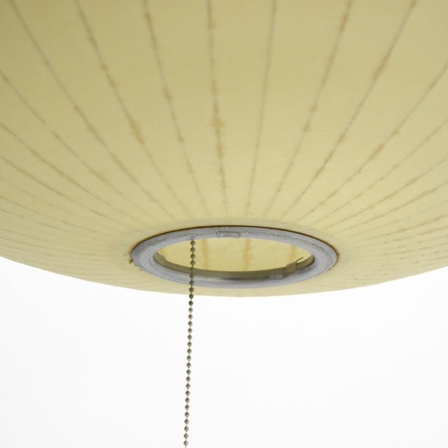 Howard Miller George Nelson Medium Saucer Bubble Lamp by Howard Miller For Sale - Image 4 of 6