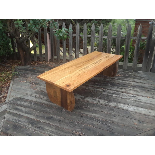 2010s Rustic Original Wine Country Coffee Table For Sale - Image 5 of 5