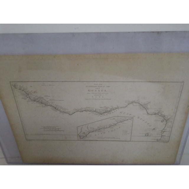 """African """"Gold Coast"""", Vintage Gulf of Guinea Map For Sale - Image 3 of 8"""