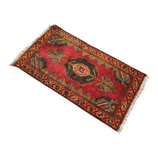Vintage Anatolian Area Rug For Sale