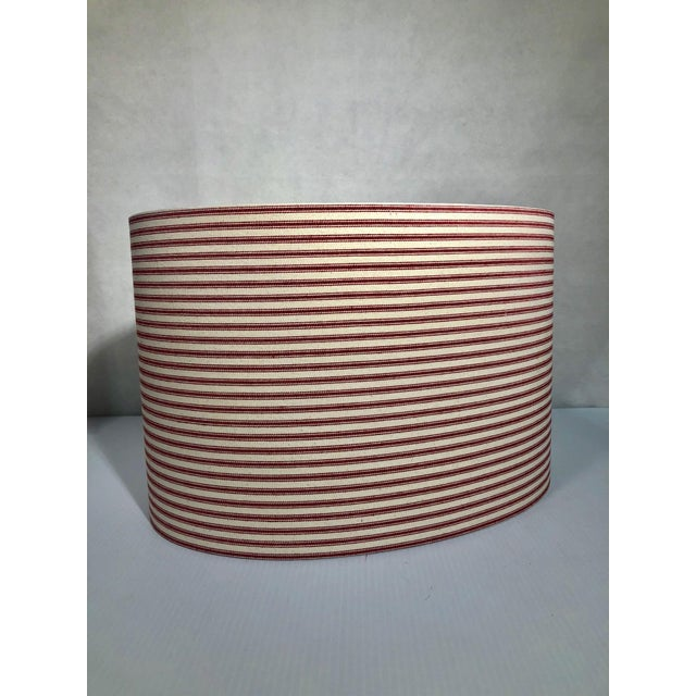 Custom Heath & Co Lamp shade - We can make any custom lampshade to order -This Shade: -16'' - Brass Washer - Rolled Edge