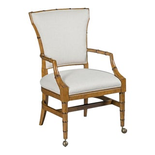 Woodbridge Emily Tapered Leg Arm Chair For Sale