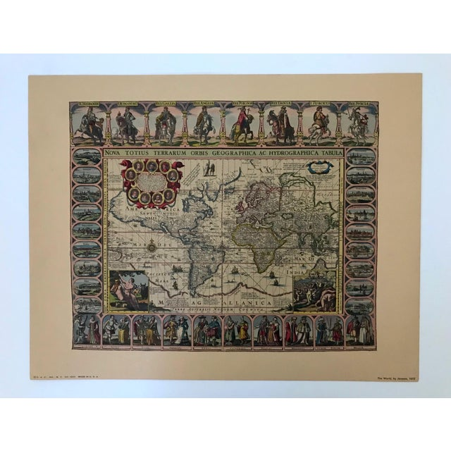 Vintage Framed Maps 1589-1670 by Speed, Ortelius, Hondius & Jansson For Sale In Tampa - Image 6 of 7