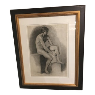 19th Century French Academic Nude For Sale