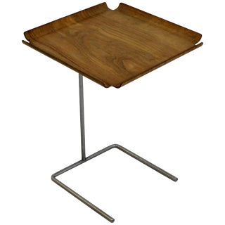 Mid-Century Modern George Nelson Early Edition Side Tray Table, 1950s, Wood For Sale