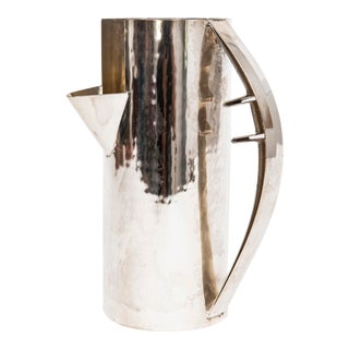 Carlo Scarpa Silver Pitcher for Cleto Mulnari For Sale