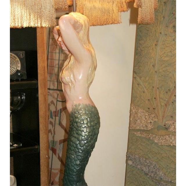 Mermaid Masthead Standing Lamp - Image 6 of 7