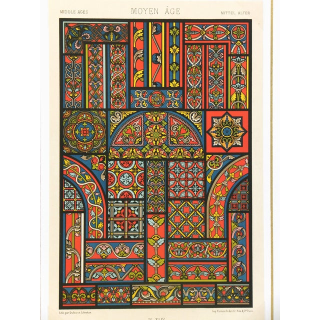 Interior Designs Lithograph For Sale - Image 4 of 4