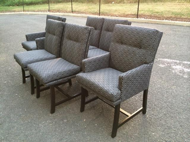 Harvey Probber For Directional Dining Chairs   Set Of 6   Image 3 Of 11