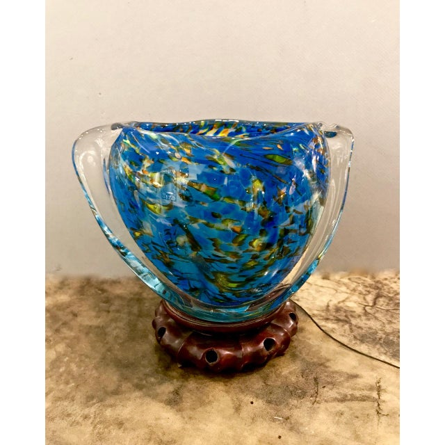 Boho Chic Mid-Century Murano Bowl For Sale - Image 3 of 5