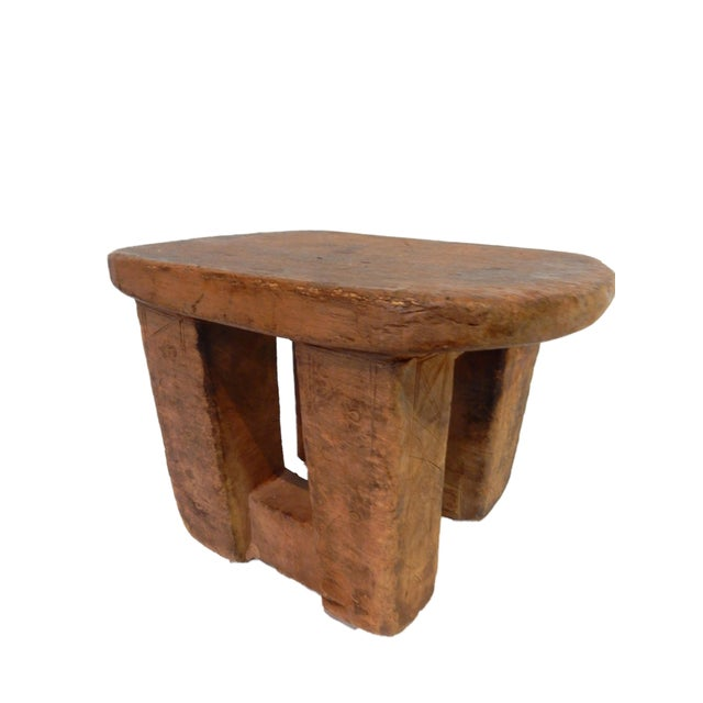 Bamileke Low Milk Stool Cameroon For Sale - Image 4 of 7