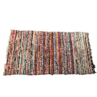 """Vintage Boucherouite Carpet - 7' X 4'1"""""""