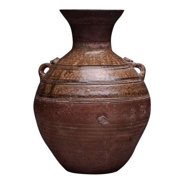 Warring States Glazed Terracotta Hu For Sale