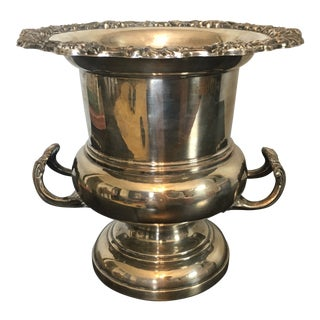 F.B. Rogers Silver on Copper Champagne Bucket For Sale