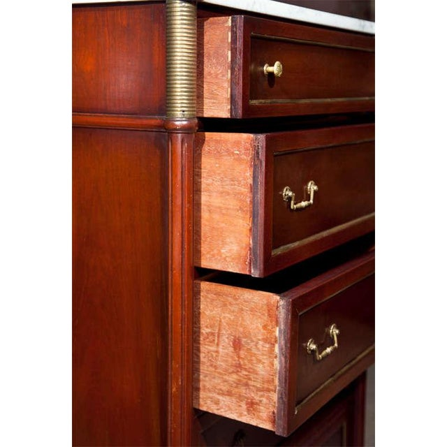 Jansen Directoire Style Mahogany Chest of Drawers For Sale In New York - Image 6 of 9