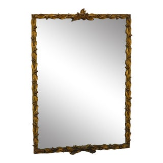 Carvers Guild French Louis XV Style Gilt Frame Wall Mirror For Sale