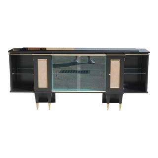 Classic French Art Deco Sideboard / Bar / Credenza Circa 1940s. For Sale