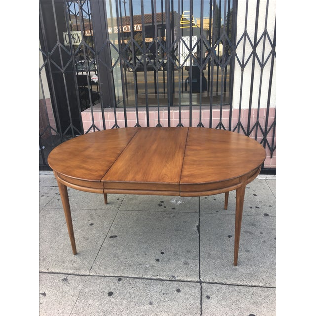 Drexel Mid Century Dining Table - Image 3 of 6