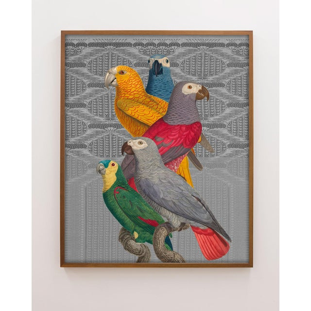 From my new series of decorative collages that seamlessly combine a variety of antique sources, including birds, animals,...