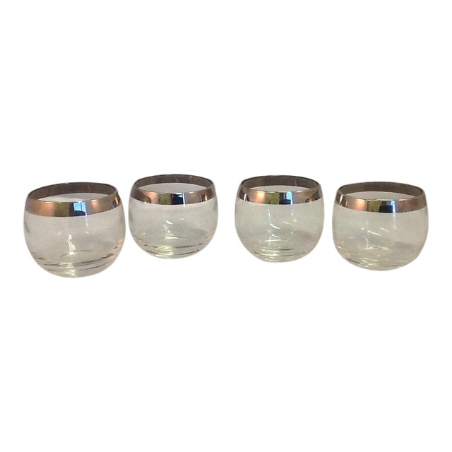 Dorothy Thorpe 5 Oz Roly Poly Glasses - Set of 4 - Image 1 of 5