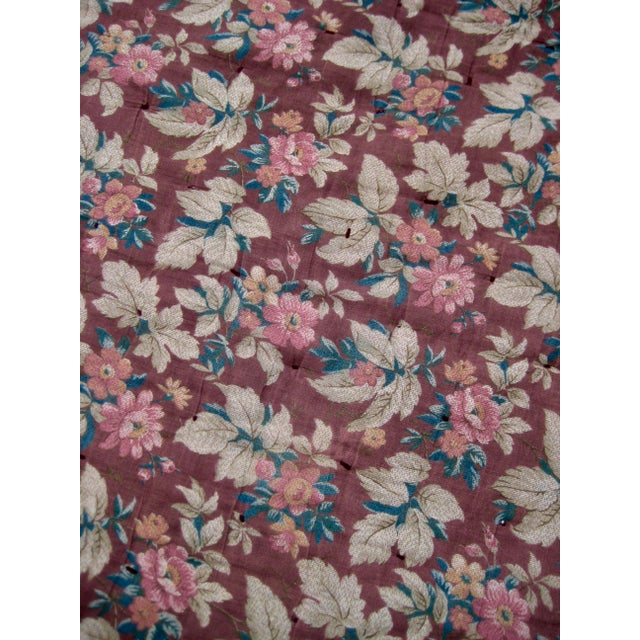 Textile 19th Century Antique American Quilt For Sale - Image 7 of 9